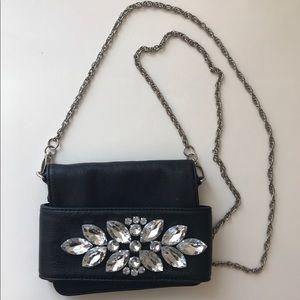 Black Jeweled Mini Bag 💎